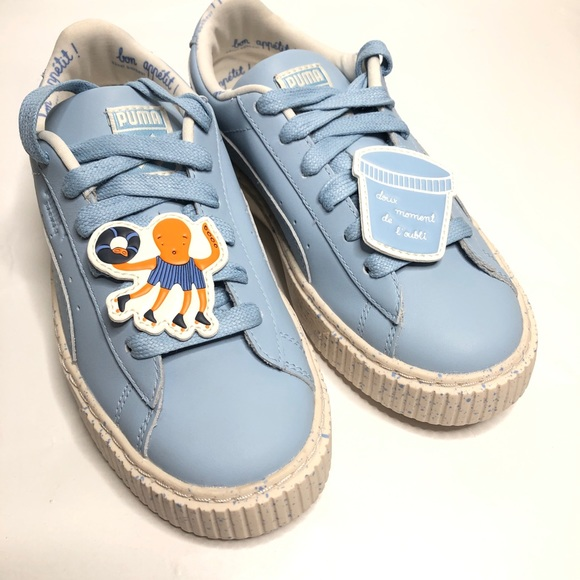 PUMA Suede Platform Speckled Wns | Puma suede, Sneakers